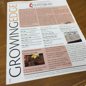Growing Edge Newsletter
