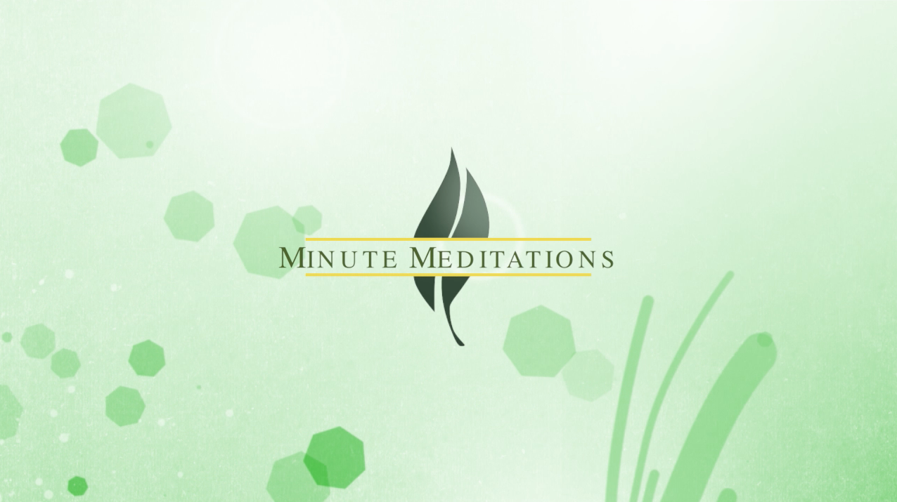 Minute Meditations from Queensbury United Methodist Church