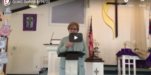 Video screenshot of Rev. Newell